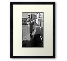 Home is where the heart is Framed Print
