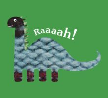 Dinosaur Fabric Collage - Raaah! Kids Clothes