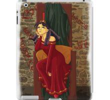 The princess is bored iPad Case/Skin