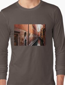 Impressions of Venice – Palaces and Side Canals Long Sleeve T-Shirt