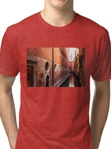 Impressions of Venice – Palaces and Side Canals Tri-blend T-Shirt