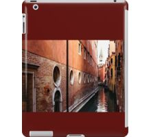 Impressions of Venice – Palaces and Side Canals iPad Case/Skin