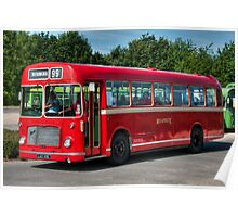 Red and White RS 167 - Bristol RESL6L #1 Poster