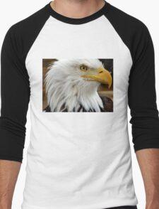Eagle Head Men's Baseball ¾ T-Shirt