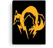 Metal Gear Solid - FOX (Over Heart) Canvas Print