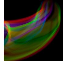 motion and light blur Photographic Print