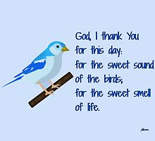 God I Thank You for This Day by bibleschlmerch
