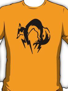 Metal Gear Solid - Fox (Black) T-Shirt