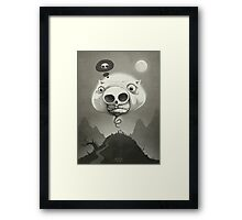 The Holow Pig Framed Print
