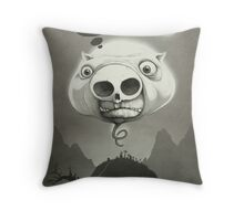The Holow Pig Throw Pillow