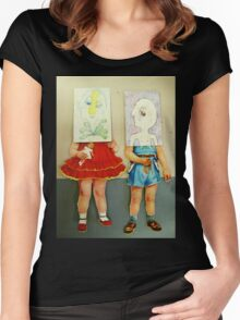 you are me dolls Women's Fitted Scoop T-Shirt
