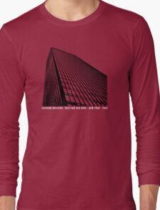 Mies Van Der Rohe Seagram Architecture Tshirt Long Sleeve T-Shirt