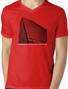 Mies Van Der Rohe Seagram Architecture Tshirt Mens V-Neck T-Shirt