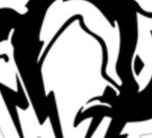 Metal Gear Solid - FOX (Black, over Heart) Sticker