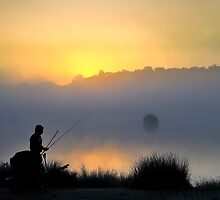 Pen Ponds Fisherman by Lea Valley Photographic