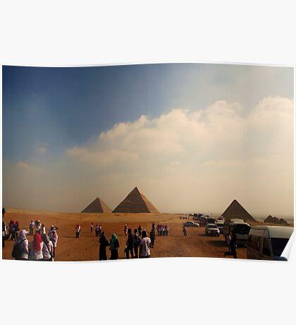 Pyramids - Breast Cancer Walk Poster