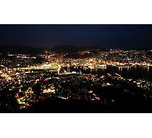 Nagasaki by Night Photographic Print