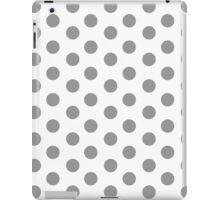 Cute Black White Polka Dot iPad Case/Skin