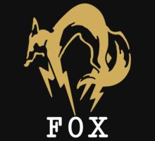 Metal Gear Solid - FOX +text by crimzind
