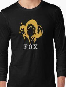 Metal Gear Solid - FOX +text Long Sleeve T-Shirt