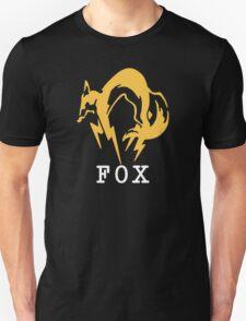 Metal Gear Solid - FOX +text Unisex T-Shirt