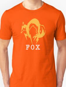 Metal Gear Solid - FOX +text T-Shirt