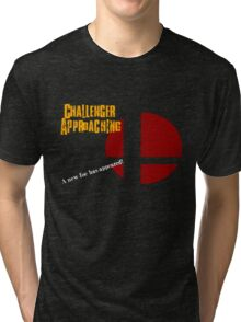 Challenger Approaching - Super Smash Bros. Tri-blend T-Shirt