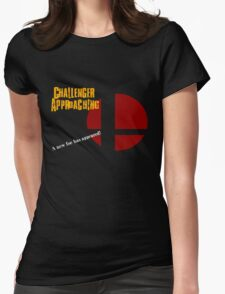 Challenger Approaching - Super Smash Bros. Womens Fitted T-Shirt