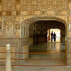 Sheesh Mahal(Hall of Mirrors) by Mukesh Srivastava