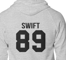 Taylor Swift - College Style [Black] Zipped Hoodie