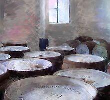 Bruichladdich Whisky Barrels by Ian Gray