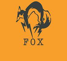 Metal Gear Solid - FOX (Black + Text) Unisex T-Shirt