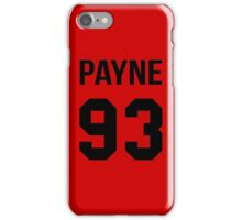 Liam Payne - College Style [Black] iPhone Case/Skin
