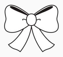 White Bow by jasminasheer