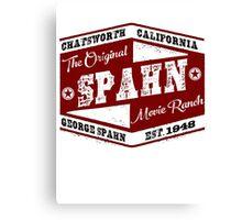 Original Spahn Movie Ranch Design Manson Family Canvas Print