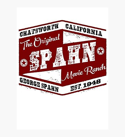 Original Spahn Movie Ranch Design Manson Family Photographic Print