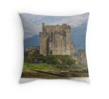 Eilean Donan Castle ~ One More Time Throw Pillow