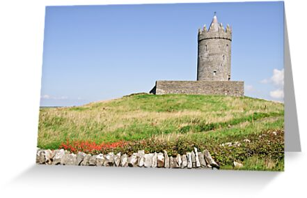 irish castle in doolin county clare by Noel Moore Up The Banner Photography