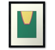 Screen Uniforms - Lost In Space - Don West - Style 2 Framed Print