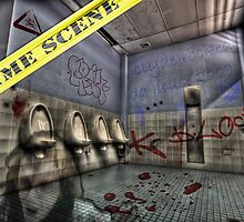 Crime Scene - K Block (HDR) by clydeessex
