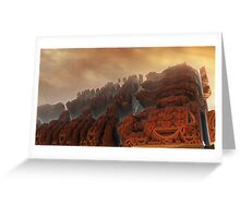 Xanadu sunset Greeting Card