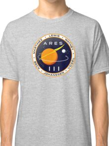 Ares 3 mission to Mars - The Martian Classic T-Shirt