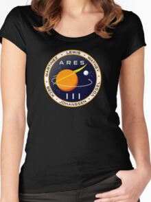 Ares 3 mission to Mars - The Martian Women's Fitted Scoop T-Shirt