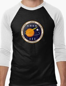 Ares 3 mission to Mars - The Martian Men's Baseball ¾ T-Shirt