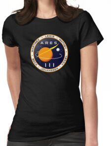 Ares 3 mission to Mars - The Martian Womens Fitted T-Shirt