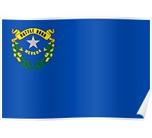 State Flags of the United States of America -  Nevada Poster