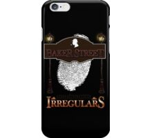 Sherlock Holmes Baker Street Irregulars Design iPhone Case/Skin