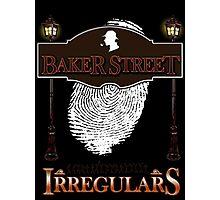 Sherlock Holmes Baker Street Irregulars Design Photographic Print