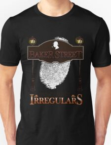Sherlock Holmes Baker Street Irregulars Design Unisex T-Shirt