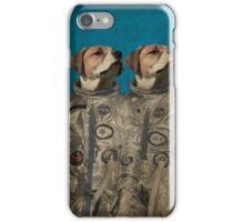 Journey into outer space iPhone Case/Skin